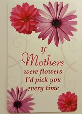 'If Mothers' Keepsake card New with envelope, A great gift for Mothers day