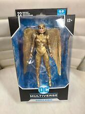 """McFarlane Toys DC Multiverse 7"""" Wonder Woman GOLD EDITION Deluxe Figure"""