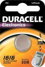 Duracell Electrónica pila de botón CR1616 3V litio montón baterías batería