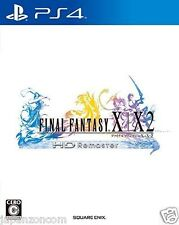 Used PS4 Final Fantasy X / X-2 HD REMASTER SONY PLAYSTATION 4  JAPANESE  IMPORT
