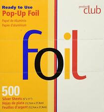 """Product Club Ready to Use Pop-Up Foil Silver, 500 Sheets (5"""" X 11"""")"""