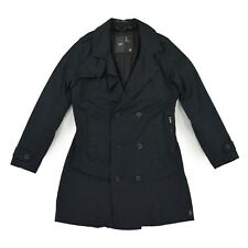 G STAR RAW Damen Trenchcoat M 38 schwarz ULTIMA ALKET TRENCH Jacke Coat wie NEU