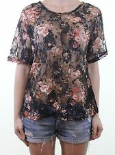 Dorothy Perkins Lace Crew Neck Tops & Shirts for Women