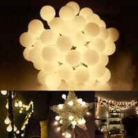 40LED Bulbs Warm White Xmas Fairy String Chain Micro Lights Ball Globe Lamp TK