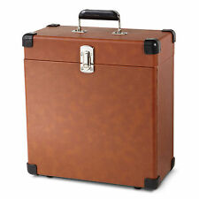 NEW Record Carrier Carrying Case Vinyl 30 Album LP Heavy Duty Storage Holder