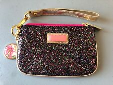 Lilly Pulitzer Multi Colored Sparkled Wristlet RARE