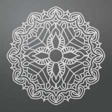Ultimate Crafts - Bohemian Bouquet Collection - Fine Bohemian Doily Die Set