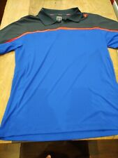 New with Tag Wilson Mens Polo Golf Shirt Size L