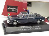 Starline 1/43 - Lancia Flaminia Presidenziale Napolitano Rome 2009