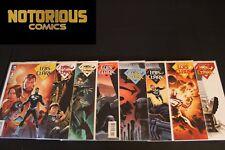 Superman Lois and Clark 1-8 Complete Comic Lot Run Set DC Jurgens Collection