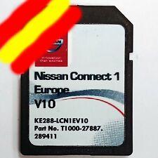 NISSAN CONNECT 1 V10 MAPA EUROPA 2020/2021 + RADARES