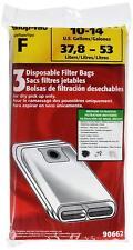 Shop-Vac 9066200 10-14 Gallon Disposable Collection Filter Bag, 3-Pack