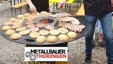 Feuerplatte Grillplatte Grillrost Stahlfässer Öltonnen Ø1,2m 5mm Blech