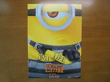 Despicable Me 3 MOVIE FLYER mini poster chirashi Japan 29-7