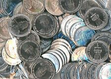 50 Coins LOT - 2002 UNC - LOK NAYAK -  Re 1 STEEL Commemorative Coin india
