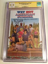 CGC 9.9 SS Wet Hot American Summer signed by Paul Rudd Andy Boom Netflix not 9.8