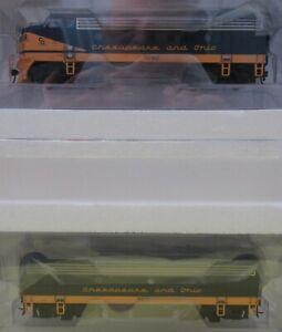 WalthersPROTO 920-40912 Chesapeake & Ohio (C&O)  Phase 2 Low F7A F7B DCC & Sound