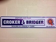 BMC Rosette Croker & Bridger Banner 1 off 1220mm 4ft wide