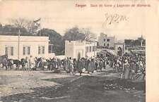 Tangier Tanger Morocco Street Scene Antique Postcard J46458