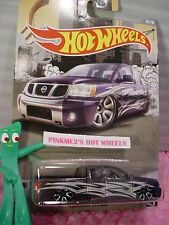 2016 Hot Wheels #5 NISSAN TITAN☆Purple pickup☆RAD TRUCK Walmart Exclusive☆