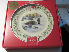 """Lenox 2013 Annual Porcelain Collector's Plate, 10"""", New in Box"""
