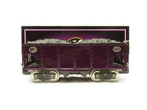 MTH 10-2012 Standard Gauge 200 Series MTH Purple w/Nickel Hopper Car LN