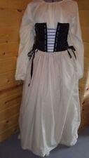 Osnaburg drawstring petticoat colonial skirt 18th century