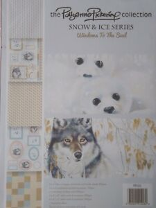 Pollyanna Pickering Snow and Ice Series Die Cut Decoupage Kit Window To The Soul