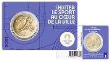 PREVENTE Coincard BU 2 Euros Commémorative France 2021 Olympic Violet