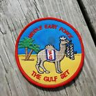 Desert Storm US Navy Middle East Force The Gulf Carrier Cruise Squadron PatchOriginal Period Items - 10953