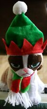 "Ganz 8"" Grumpy Cat Sitting Christmas Hat NEW w mfg tag GREAT GIFT! Free shipping"