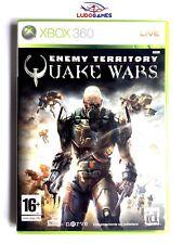 Quake Wars Enemy Territory Xbox 360 Nuevo Precintado Sealed Brand New PAL/SPA