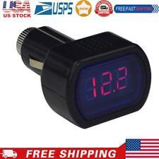Mini Led Digital Car Auto Vehicle Battery Voltage Meter Tester Voltmeter