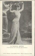 Seductive Woman Performer Le Domino Rouge Poli's Theatre Springfield PC