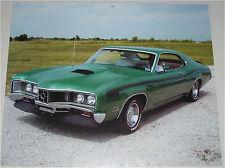 1971 Mercury Cyclone Spoiler 2 dr ht car print (green)