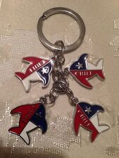 Chile Flag Keychain # 22 Fish.
