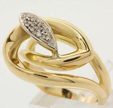 ♦♦♦♦TOP♦♦breiter großer Damen Gold Ring Damenring moderner Goldring Gelbgold♦♦♦♦