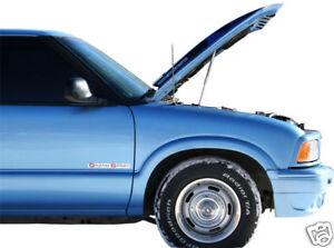 1994-04 Chevy S10 Blazer Truck Hood Quick LIFT PLUS Gas Strut Damper Prop BLACK