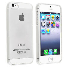 Ultra Thin Crystal Hard Case Cover for Apple iPhone 5 5S SE - Clear Transparent