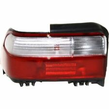For Corolla 96-97, Driver Side Tail Light, Clear and Red Lens