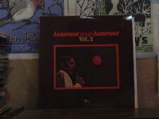 CHARLES AZNAVOUR, SINGS AZNAVOUR VOL 2 - LP 80 418