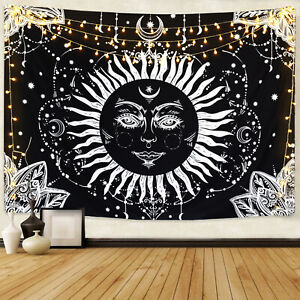 Wall Tapestries Art Sun Wall Hanging Tapestry Decorative Tapestry Home Decor