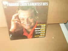 FRANKIE LAINE'S GREATEST HITS rare Vinyl LP (Columbia JEZEBEL High Noon ROSE vg+