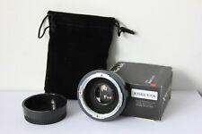 Fotodiox Infinity Pro Adapter Miranda Lens to Nikon F AI Mount Camera.UK Seller