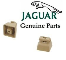 Jaguar XJ6-XJS Sunvisor Brackets Set Of 2 Genuine HMD 1084AA AEE