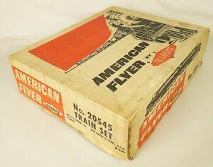"AMERICAN FLYER #20545 RARE POSTWAR 1959 ""PATHFINDER"" ORIGINAL SET BOX-NICE!"