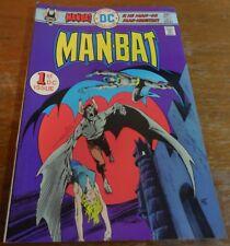 Manbat #1 9.4 / NM - Original Owner... w/bag...1st DC...Batman appears...1975