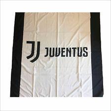 1 BANDIERONE JUVENTUS UFFICIALE 170x140 LOGO NUOVO JUVE FLAG BANDIERA GRANDE