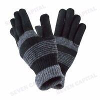 Wholesale Lot Mens Womens Warm Knit Wool Finger Full Finger Gloves Mitten New
