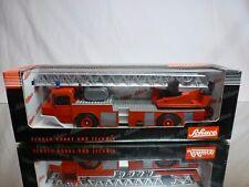 SCHUCO 07101 MAGIRIUS IVECO LADDER TRUCK - FIRE ENGINE FEUERWEHR - EXCELLENT IB